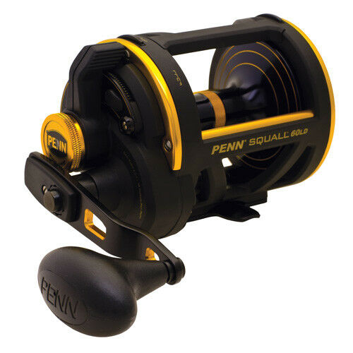 NEW  Penn Squall SQL60LD Lever Drag Conventional Fishing Reel 1206096
