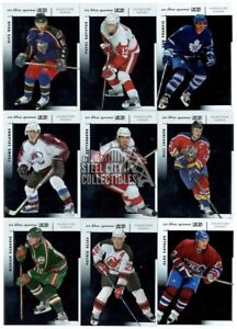 2003-04-In-The-Game-Used-Signature-Series-Hockey-120-Card-Base-Set