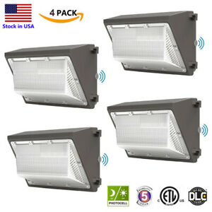 4PACK Led Wall Pack 120W Commercial led WallPack Outdoor 400W HPS//HID Equivalent