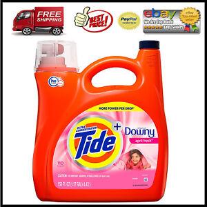Tide-Plus-Downy-April-Fresh-Scent-Liquid-Laundry-Detergent-150-oz-110-loads