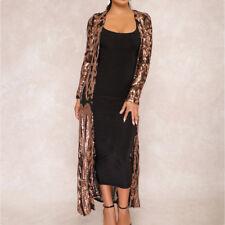 fb7d6b2df item 7 Ladies Women Sequins Sheer Long Cardigan Party Evening Maxi Dress Jacket  Coat -Ladies Women Sequins Sheer Long Cardigan Party Evening Maxi Dress ...