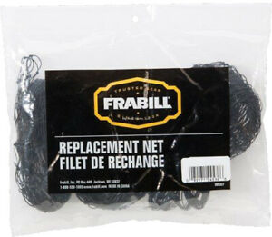 NEW-Frabill-4524-14-034-x15-034-Black-Poly-Replacement-Net