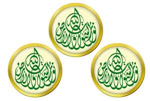 Allah-Is-The-Leger-de-Heavens-et-Terre-Marqueurs-de-Balles-de-Golf