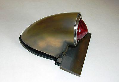 Sparto Taillight, Antique Brass Finish, Vintage, Bobber, Chopper, Custom,  Retro