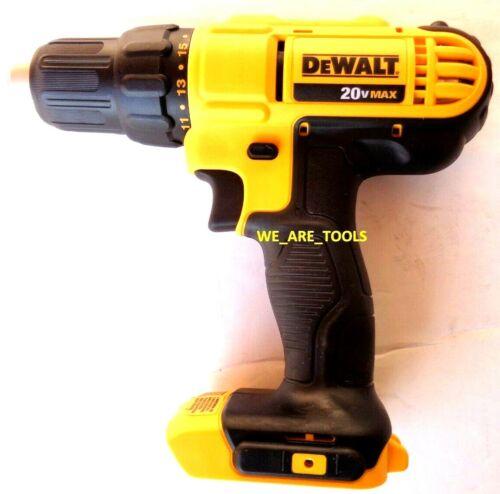 New DeWalt DCD771 20V Compact 1//2 Drill Driver 1//2 MAX Cordless  2-Speed 20 Volt