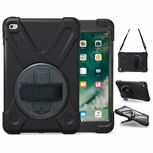 100% authentic 2dbb7 00a54 Details about For iPad mini 4 With Handle Grip Shoulder Strap Stand Heavy  Duty Lifeproof Case