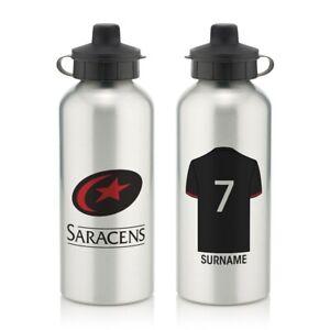Saracens-Personalised-Aluminium-Water-Bottle-SHIRT