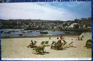 England-Harbour-and-Beach-St-Ives-unposted