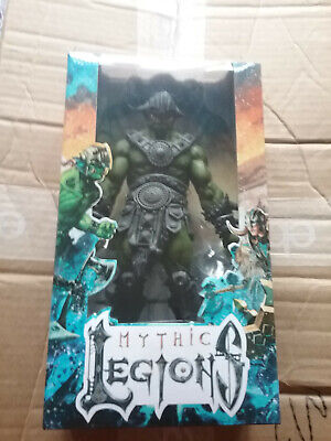 BRAND NEW!! MYTHIC LEGIONS OGRE LEGION BUILDER NEVER OPEN IN PERFECT CONDITION