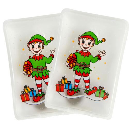 Taschenwärmer 2er Winter Weihnachtsmotive Handwärmer Heizkissen Wichtelgeschenk
