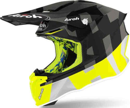 2020 AIROH TWIST 2.0 HELMET FRAME ANTHRACITE MATT MOTOCROSS OFF ROAD NEW CHEAP