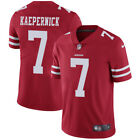 San Francisco 49ers Nike NFL #7 Colin Kaepernick Red Men's Limited Home Jersey