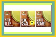 Zumba Fitness 3 DVD CORE CRAZE-GLUTE PURSUIT-STEP IT UP-Use w Rizer or Any Step