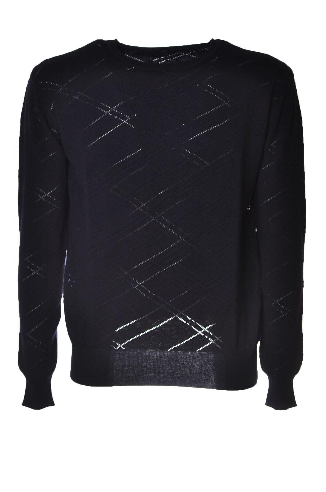 Hosio  - -  Sweaters - - Male - blu - 4393325A184704 5d892d