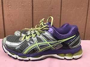 Details about EUC Asics Gel Kayano 21 Women's Running Shoes US 9.5 M EUR  41.5 Silver T4H7N