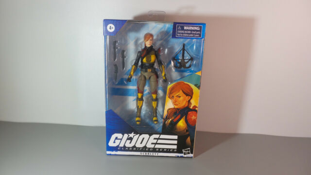 "G.I. Joe Classified Series 6"" Action Figure - #5 Scarlett NEW SEALED NIP 2020"
