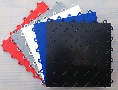 HIGHEST QUALITY POLYPROPYLENE FLOOR TILES - SAMPLE KIT (2 x Tiles - 2 x Edging)