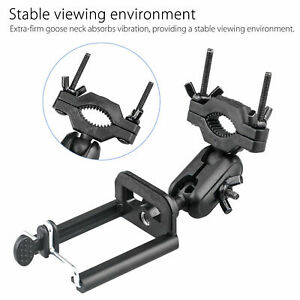 Black-Rotating-Car-Rear-View-Mirror-Mount-Stand-Holder-Cradle-For-Cell-Phone