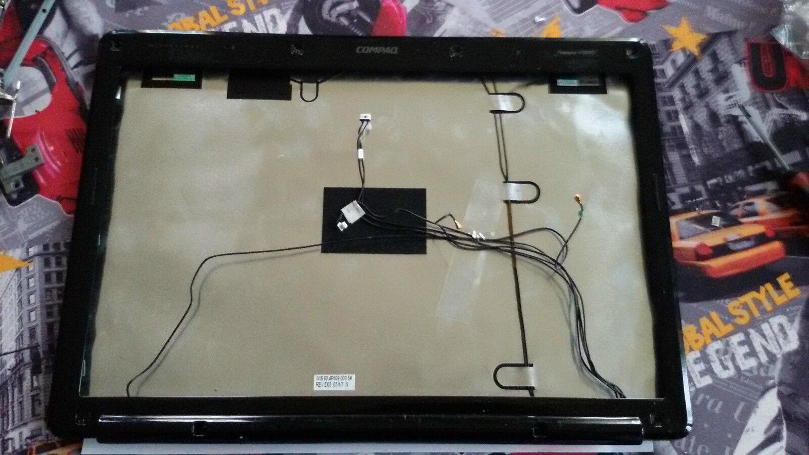 Compaq presario v3000 lcd cover + black edge