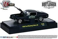 1:64 M2 Machines Bootlegger Bl02 = Black 1968 Ford Mustang Cobra
