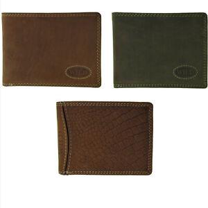 Herren-Geldboerse-Portemonnaie-Geldbeutel-Ledergeldboerse-Lederportemonnaie