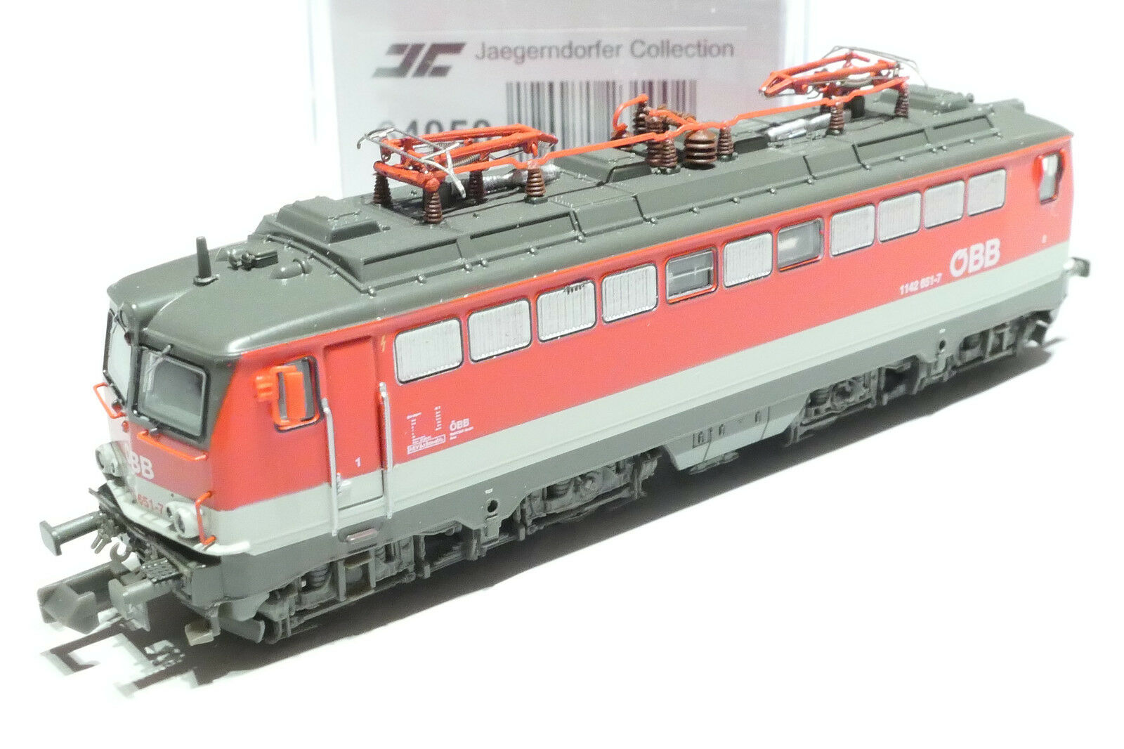 Jägerndorfer N ÖBB 1142 651-7 Red Grey JC64050 NEW OVP