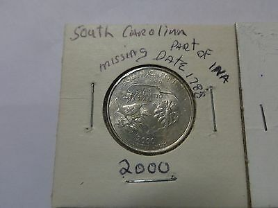 COINS D/&P MINT 2 2000 SOUTH CAROLINA STATE QUARTER SET NGC MS 67