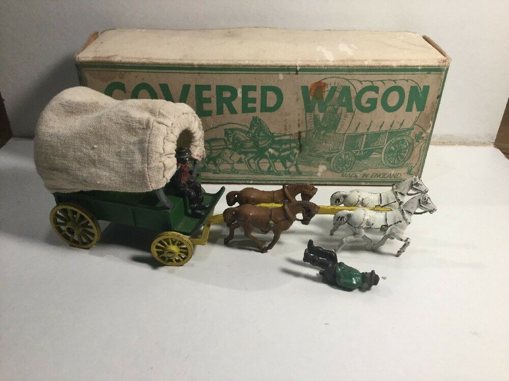 Vintage Modern Product  Covered Wagon Within Its Original Box