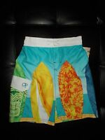 Board Shorts With Surf Boards With Tags Boy's Xl