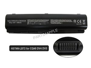Laptop//Notebook Battery for HP//Compaq G Series G61-420CA 6 cells 4400mAh Black