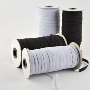180-Yards-3mm-Elastisch-Band-Gummiband-Kleidung-Reparieren-Ersetzen-Naehen-DIY