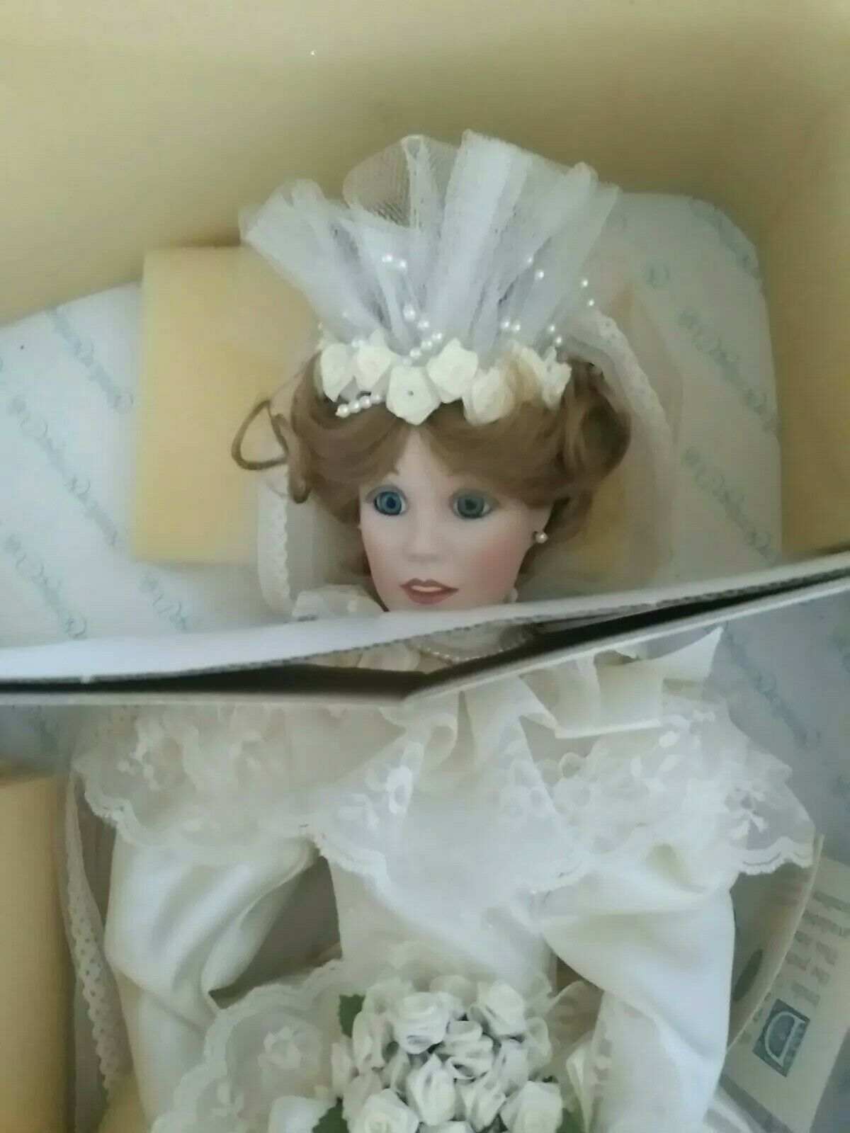 A Portrait of Innocence Hamilton Heritage Dolls Porcelain Doll