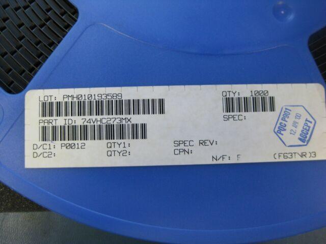 Octal D Type Flip Flops QTY 5 SN74HC273 SOIC-20