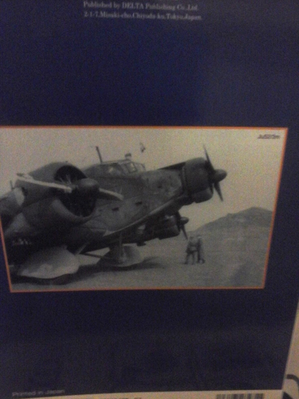 MILITARY AIRCRAFT N.7-JAPANESE ARMY ARMY ARMY HEAVY BOMBERS 1939/1945 DELTA PUBLISHER JAPA 035bce