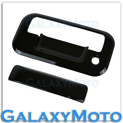 04-14 Ford F150 Gloss Black 2 Door Handle+no keypad no PSG KH+Tailgate Cover