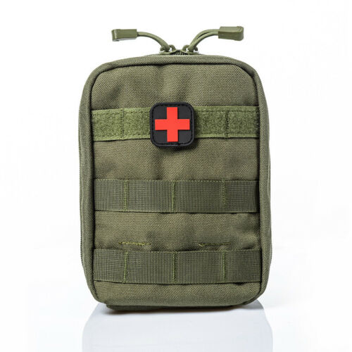 Tactical Military First Aid Kit Bag Medical Molle EMT Emergency Survival Pouch