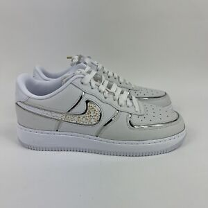 Details about Nike Air Force 1 Low CR7 ID By You Cristiano Ronaldo Size 10.5 White No Lid