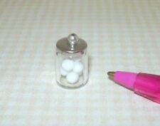 Dollhouse Handblown Medical Laboratory Glass Long Neck Flask 1:12 Lab Miniature