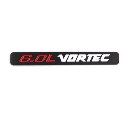 2x 6.0L Vortec Emblems Badge Sticker For 1500HD 2500HD 3500HD GMC Silverado
