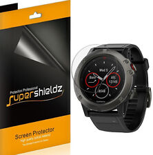 6X Supershieldz HD Clear Full Coverage Screen Protector For Garmin Fenix 5x
