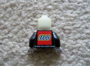 LEGO-Harry-Potter-Rare-Promo-Snape-Head-amp-Torso-w-LEGO-Logo-Excellent