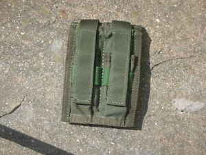 Pre-MSA-CAG-Paraclete-DOUBLE-45-Pouch-Smoke-Green-SOCOM-SEAL-NSW