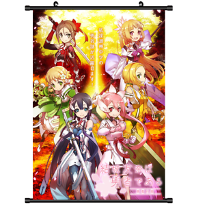 3532 Anime Yuuki Yuuna wa Yuusha de Aru Canvas Wall Poster Scroll A