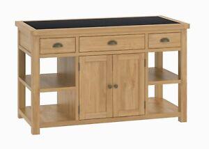 Roseland-Oak-Large-Kitchen-Island-Solid-Wood-Waxed-Kitchen-Island-Granite