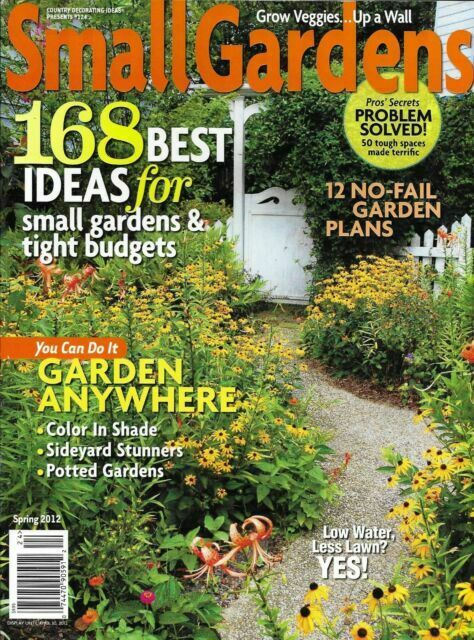 Small Gardens Magazine Best Ideas Color In Shade Side Yards Potted