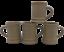 4-Hartstone-Pottery-Buff-Stoneware-Mugs-Vintage-Child-Size-or-AD-Espresso-USA thumbnail 3