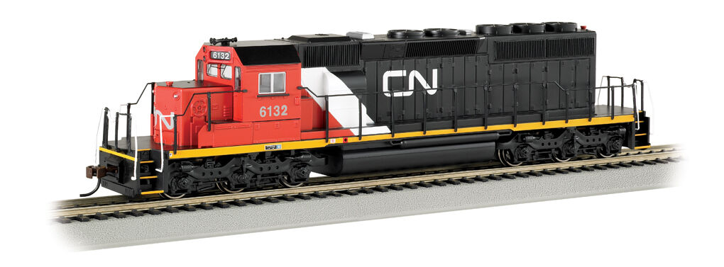 Nacional canadiense-SD40-2 BAC67017 (caja Original)