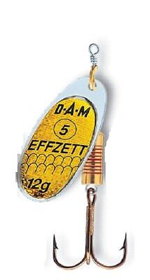 Reflex Silber 5124 Größen Art.-No DAM EFFZETT FZ Standard Spinner versch