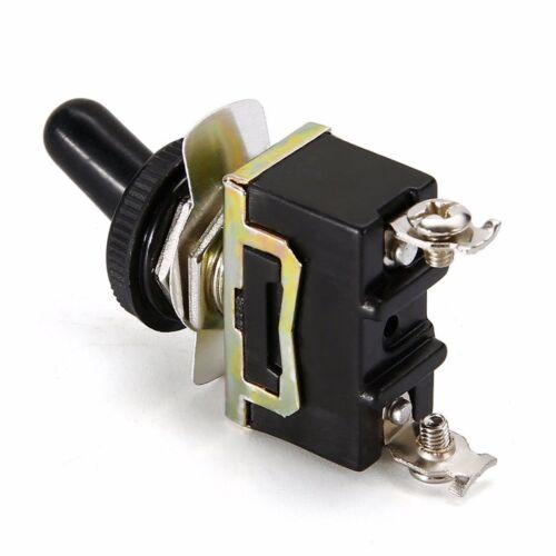2PCS 12V Volt Heavy Duty Toggle Flick Switch ON//OFF Car Dash Light Metal SPST HQ