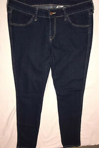 Para Mujer H M Skinny Jeans Cintura Baja Pantalones Talla 32 Ebay